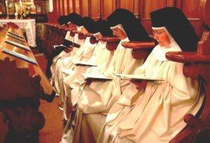 Gebet Nonnen, Kloster Frauenthal, Zisterzienserinnen