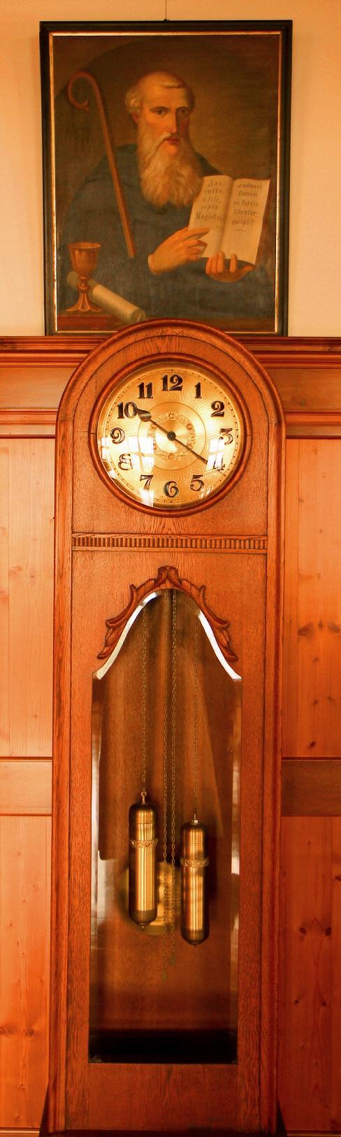 Hl. Benedikt und die Uhr im Kloster Frauenthal