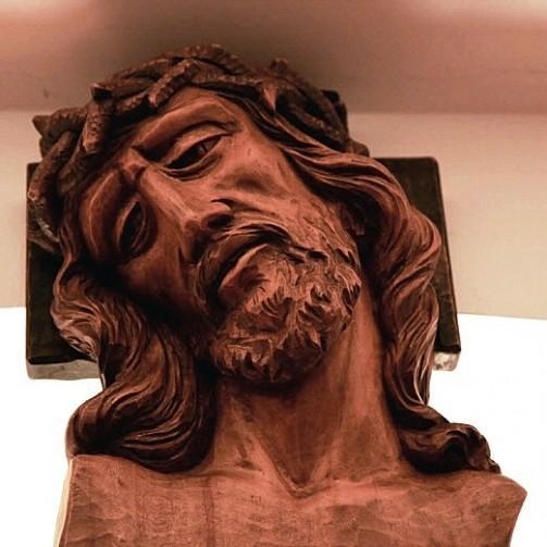Jesusstatue, Kloster Frauenthal, Kanton Zug